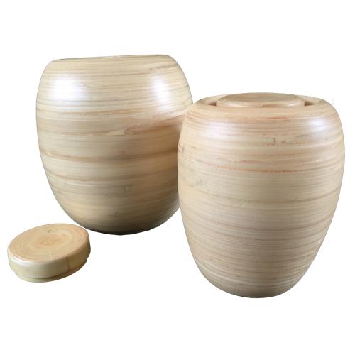 urne céramique bambou incinération animaux chat chien